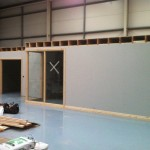 New Offices Plasterboarded