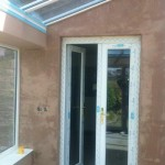 Small Conservatory Plastered