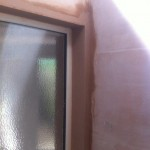 Window Patch Plastered