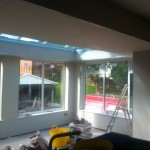 Orangery Plasterboarded in Radcliffe, Manchester