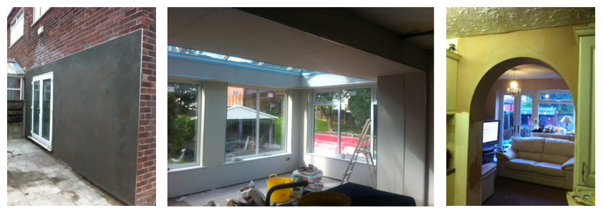 Professional Plastering in Manchester