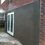 Wall After Rendering in Chadderton, Manchester